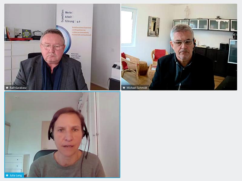 Inspiration Talk 1 mit Dr. Julia Jung vom IAB, Nürnberg